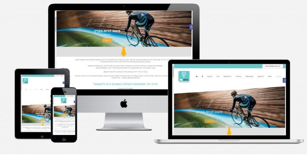 בניית אתר ייעוץ עסקי